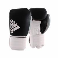 Боксерские перчатки Hybrid 300 черно-белый-серебро