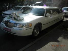 Лимузин на свадьбу - прокат,аренда Лимузина в Киеве