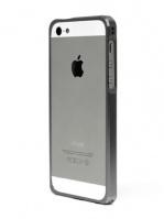 Бампер Alloy X для iPhone 5, Titanium Gray