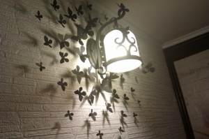 Декоративные бабочки на стену