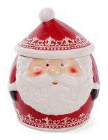 Банка для новогодних сладостей «Санта» 2.8л керамическая