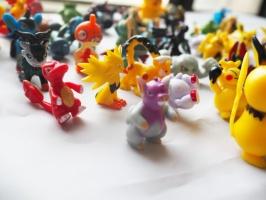 Покемоны мини, фигурки 24 шт