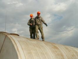 Зачистка резервуаров от отходов нефтепродуктов