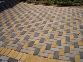Тротуарная плитка кирпичик, брусчатка, прямоугольник