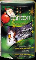 Чай Тарлтон Frosty the snow man Снеговик железная банка с музыкой внутри играет когда открывается крышка 200 г ж б
