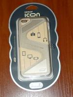 Чехол бампер Icon iPhone 6/6S Zorro gold