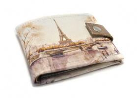 Дамский кошелек «Осенний Париж»