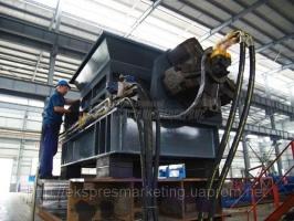 Дробилка PS-45100,  для измельчения металлической стружки