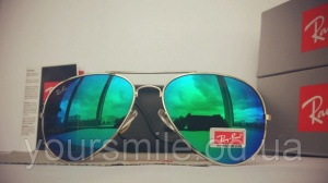 Легендарные очки Ray Ban Aviator Хамелеон