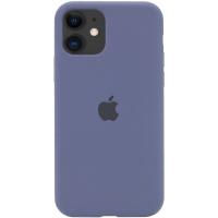 Чехол Silicone Case Full Protective (AA) для Apple iPhone 11 (6.1«) Темный Синий / Midnight Blue