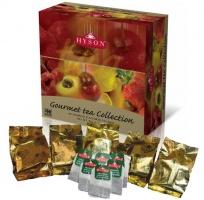 Чай Хайсон Gourmet tea Collection Коллекция гурмана пак черный чай (6х10штх1,5гр).