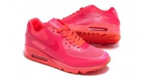 Nike Air Max 90 Hyperfuse розовый / оранжевый