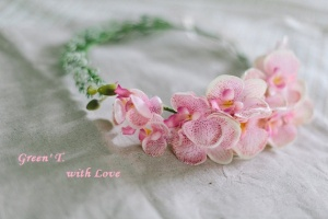 Віночок «Мелодійність орхідей»