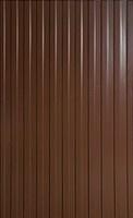 Профнастил стеновой С-10 RAL 8017(шоколад) 0.3-0.5мм