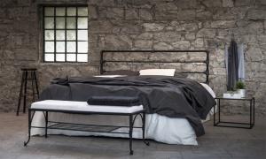 Кованая кровать «Локис»