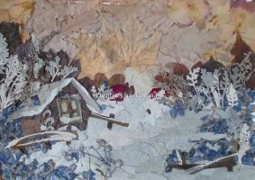 Картины плоскостная флористика