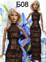 Вечерние и бальные платья для кукол Барби
