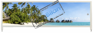 Экран под ванну Пан Билан - АРТ 150см. Мальдивы
