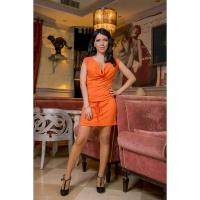 Платье «Апельсин »