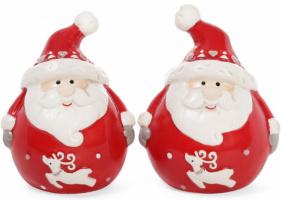 Набор для специй «Санта» 6.3х5.3х7.9см (солонка/перечница)