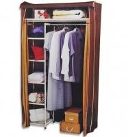 Шкаф-гардероб с металлическими полками +2 кофра в подарок
