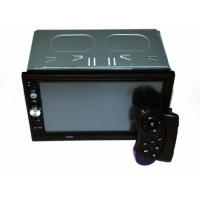 Магнитола 2 Din 7022CRB 7«+Video, BT, MP3, FM, USB, AUX! Av-in + пульт
