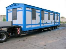 Перевозка ларьков, киосков, павильонов, блоккомнат по Харькову и области