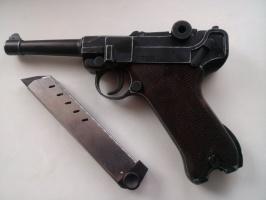 Шумовой пистолет парабеллум люгер р 08