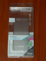 Чехол бампер Kuboq Ultra Thin Light iPhone 5C gray clear