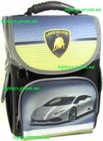 Рюкзак каркасный ортопедический школьный Lamborghini, Ламборджини, начальная школа, 1-3 класс