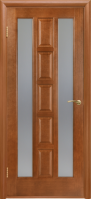 Двери межкомнатные КВАДРО (каштан)
