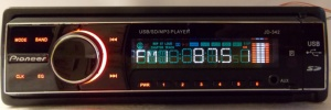 Pioneer JD-342 (USB, SD, FM, AUX, ПУЛЬТ)