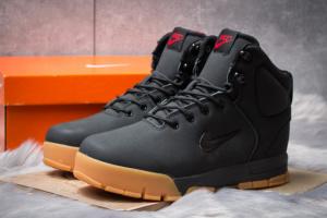 Зимние ботинки на меху в стиле Nike ACC Winter, черные (30392),  [  41 42 45  ]