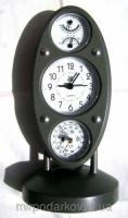 Метеостанция 5 в 1 Барометр - Гигрометр - Термометр - Часы - Будильник 5 в 1