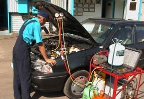 Замена радиатора, осушителя, компрессора ,патрубков