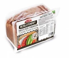Безглютеновый свежий хлеб с тмином на закваске