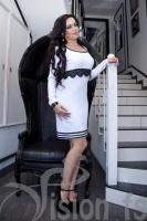 Платье «Брейф» 15552 (белый)