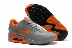 Nike Air Max 90 Hyperfuse grey-orange