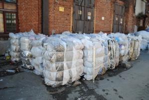 Прием и вывоз пленки в Борисполе. Прием полиэтилена.