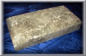Плитка из соли_ Высота/ширина -170х80мм. Толщина плитки - 35 мм. Вес - 1,1 кг. В 1 м.кв. - 73 шт.