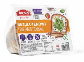 Безглютеновый свежий хлеб с семенами