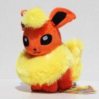 Покемон Флареон (Flareon) плюшевая игрушка, 35 см