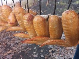 копченые куриные крылья