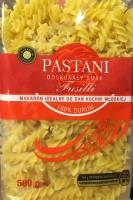 Макаронні вироби Pastani 500г. із твердих сортів пшениці.