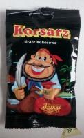 Драже кокосовые в шоколаде Пират 70 гр