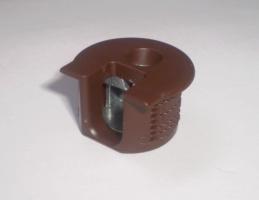 Корпус рафикса SE коричневый d 20 мм/12,7 мм толщина детали 16 мм 263.10.103