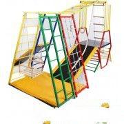 Спорткомплекс «Лабиринт-1» это 2 комплекса в одном качели горка веревочная лестница канат