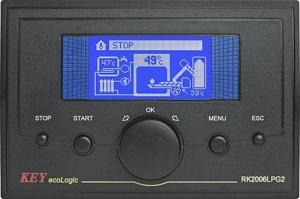 Автоматика для пеллетной горелки RK-2006LPG2 для водогрейных котлов