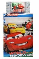 Постельное белье - Тас Дисней Cars Racing подростковое
