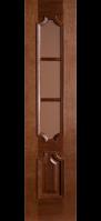 Двери межкомнатные ПРЕСТИЖ каштан ПО 40 см.